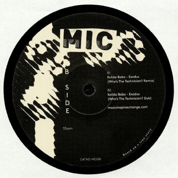 Kolida Babo - Exodus Remixes - Coby Sey & Who's The Technician?