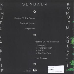 Komodo Kolektif - Sundada (Back)