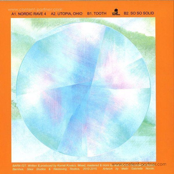 Kornel Kovacs - Nincs EP (Back)