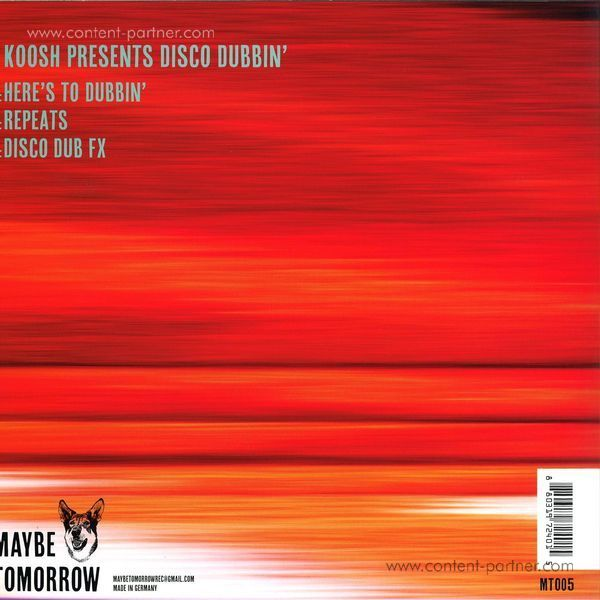 Kosh - Koosh Presents Disco Dubbin (Back)