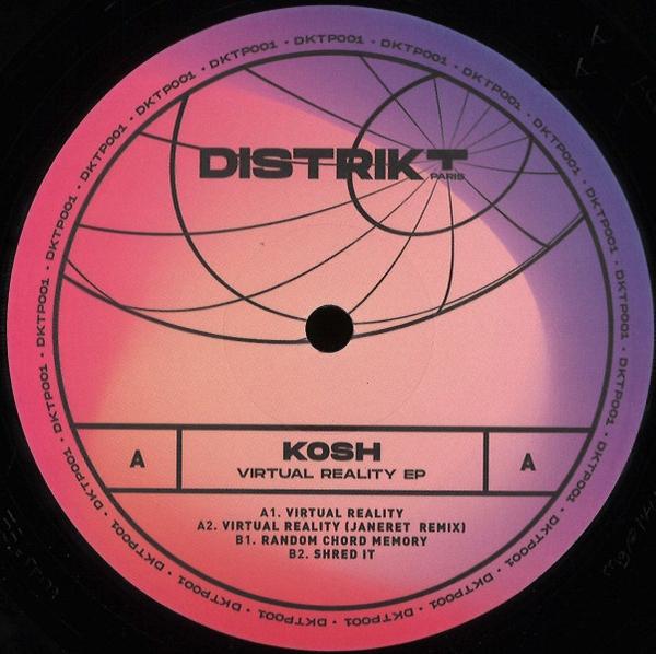 Kosh - Virtual Reality EP (incl. Janeret Remix)