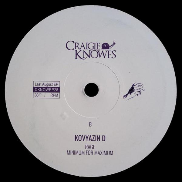 Kovyazin D - Last August EP (Back)