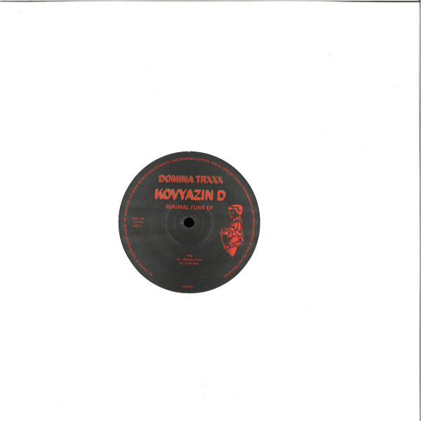 Kovyazin D - Minimal Funk EP (Back)