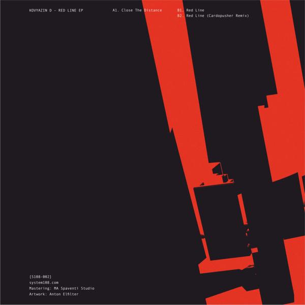 Kovyazin D - Red Line EP (Back)