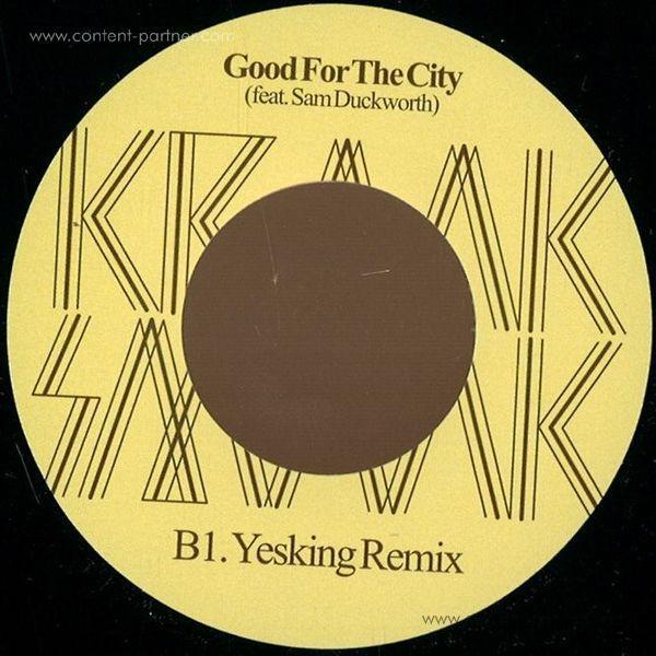 Kraak & Smaak - Good For The City (Yesking Remix) (Back)