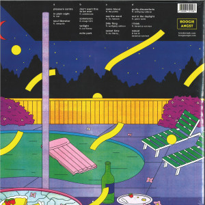 Kraak & Smaak - Pleasure Centre (2LP) (Back)