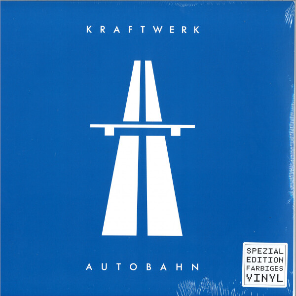 Kraftwerk - Autobahn (Ltd. Blue Coloured LP)
