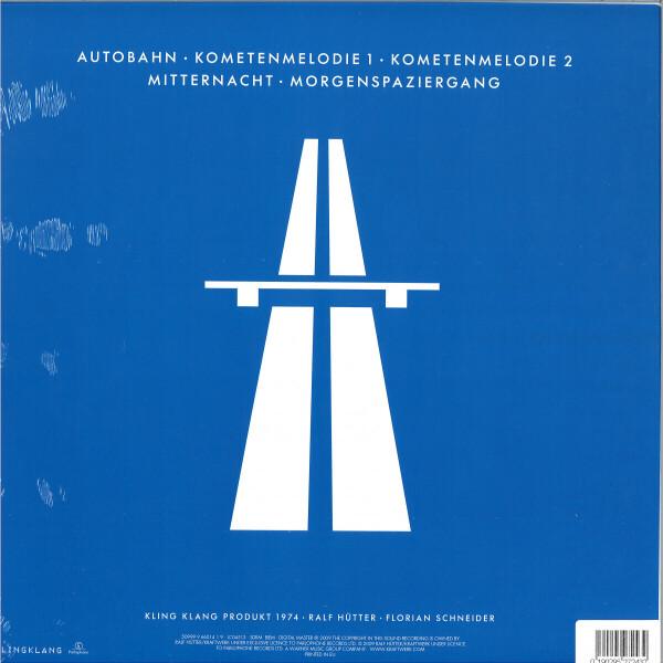 Kraftwerk - Autobahn (Back)