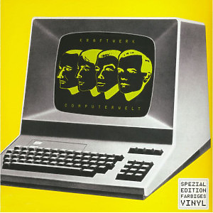 Kraftwerk - COMPUTERWELT (German Version, Yellow transl. Vinyl (Back)