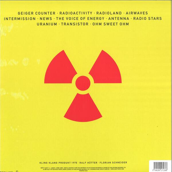 Kraftwerk - Radio-Activity (Ltd. German Version Yellow Vinyl) (Back)