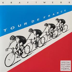 Kraftwerk - TOUR DE FRANCE (LTD. RED/BLUE 2LP COLORED) (Back)