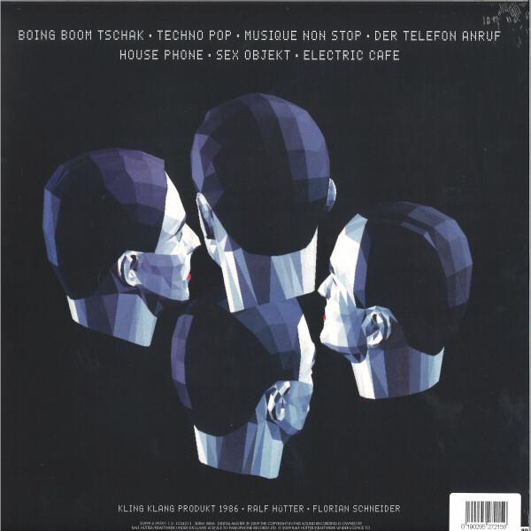 Kraftwerk - Techno Pop (Back)