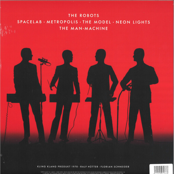 Kraftwerk - The Man-Machine (Back)