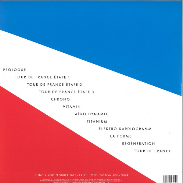 Kraftwerk - Tour De France (Back)