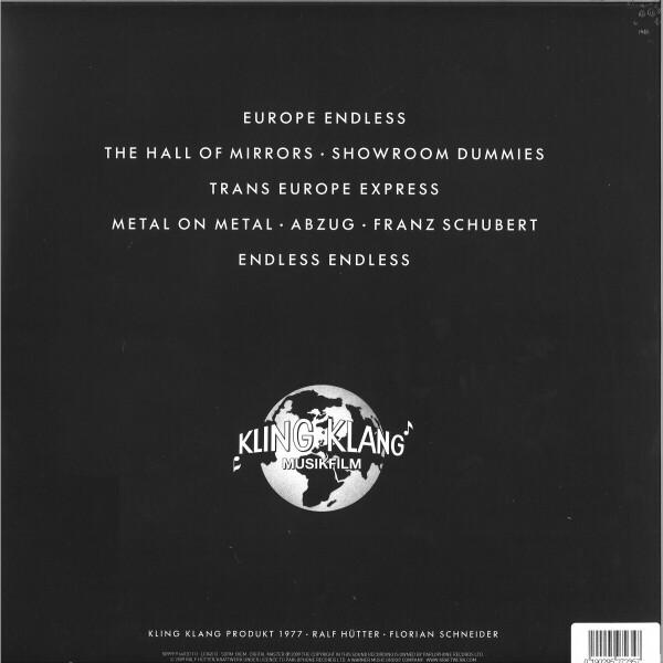 Kraftwerk - Trans Europe Express (Back)