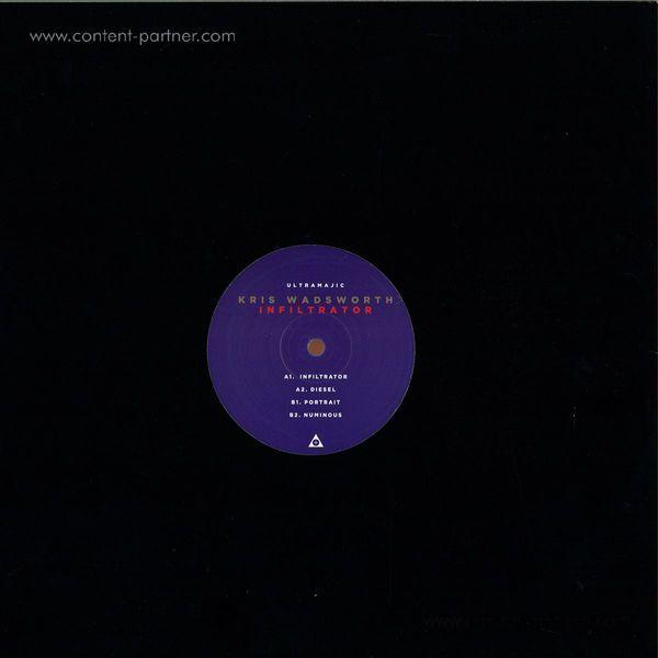 Kris Wadsworth - Infiltrator (Album Sampler) (Back)