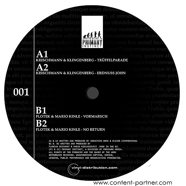 Krischmann & Klingenberg - epaminondas ep (back hard) (Back)