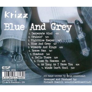 Krizz - Blue And Grey (Back)