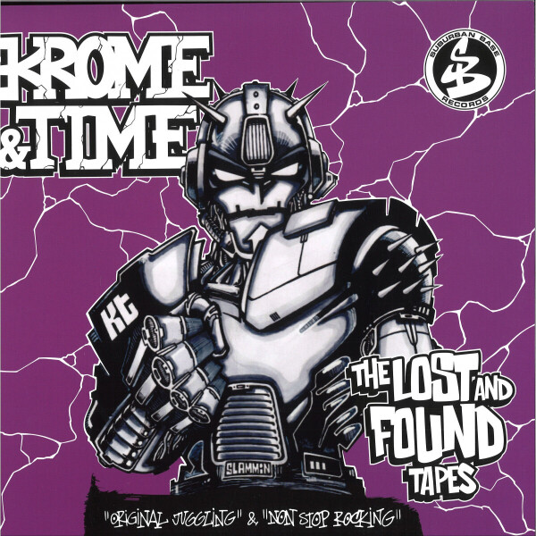 Krome & Time - Lost & Found Tapes (Splatter Vinyl)