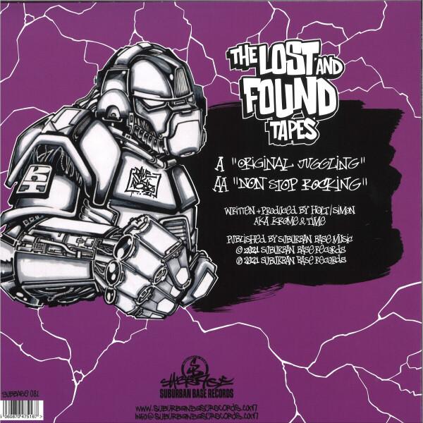 Krome & Time - Lost & Found Tapes (Splatter Vinyl) (Back)