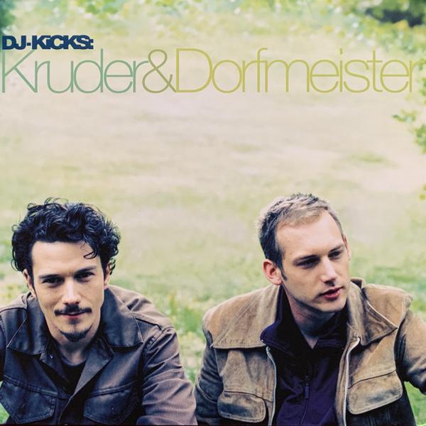 Kruder & Dorfmeister - DJ Kicks (2LP Reissue) Dented Corner / Ecke Beschä (Back)