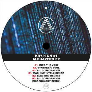 Krypton 81 - Alphazero EP (Back)