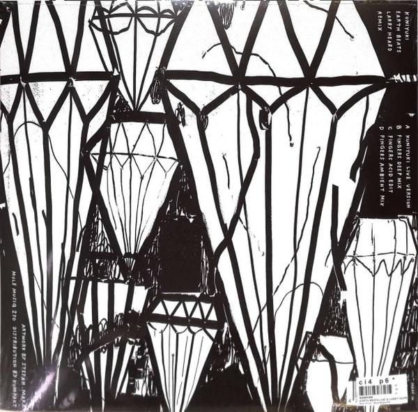 Kuniyuki - Earth Beats Live & Larry Heard Remix (Re-Release) (Back)
