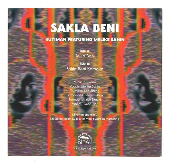 Kutiman - Sakla Beni (featuring Melike Sahin) (Back)