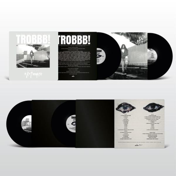 Kutmah - TROBBB! (2LP+MP3) (Back)
