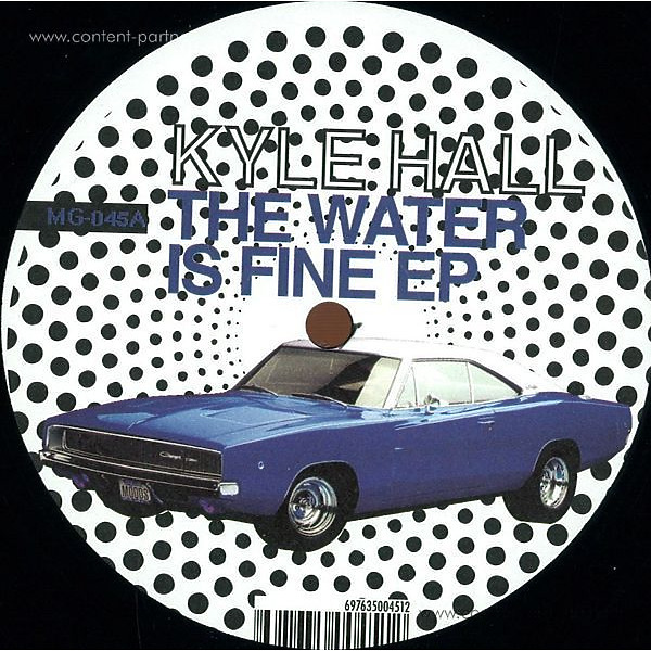Kyle Hall - The Water Is Fine EP (Repress!!!)