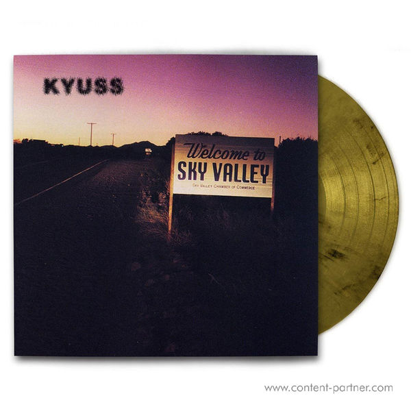 Kyuss - Welcome To Sky Valley (Yellow-Gold Marbled Vinyl)