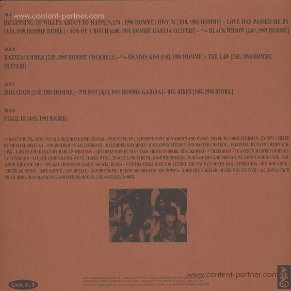 Kyuss - Wretch (Clear Vinyl) (Back)