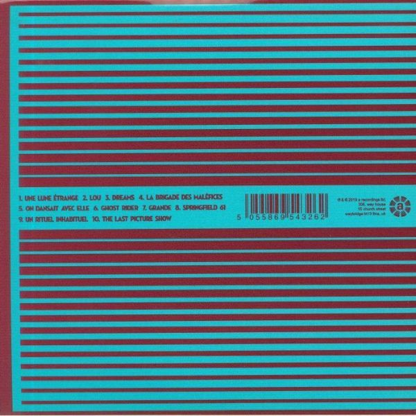 L'Epee - Diabolique (180g Ruby Red Vinyl LP+CD) (Back)