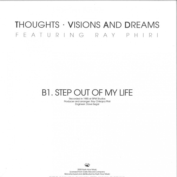 """LINDA """"BABE"""" MAJIKA / THOUGHTS VISIONS & DREAMS F - LET'S MAKE A DEAL / STEP OUT OF MY LIFE (Back)"""
