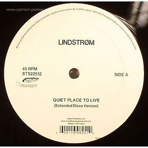 LINDSTROM - Quiet Place To Live