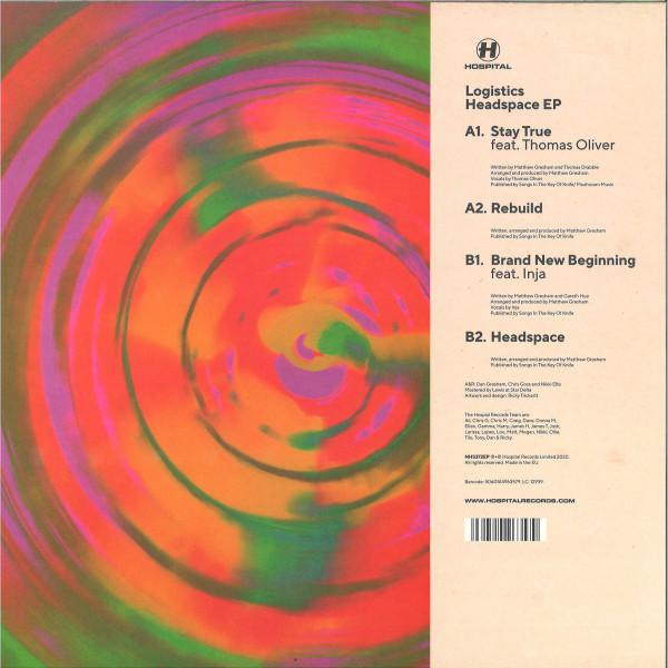 LOGISTICS - Headspace EP (Back)
