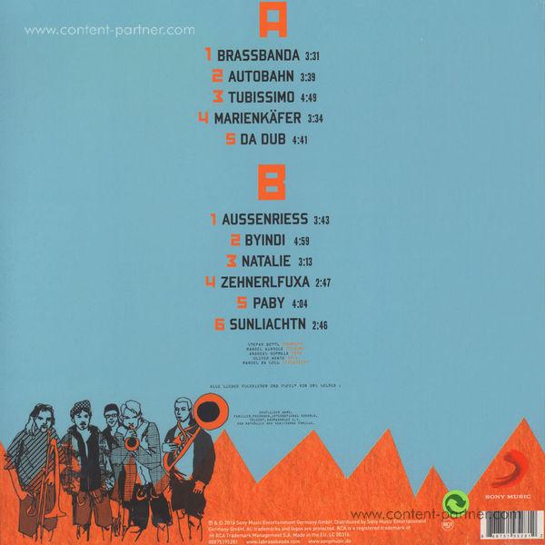 LaBrassBanda - Habediehre (Repress, 180g LP) (Back)