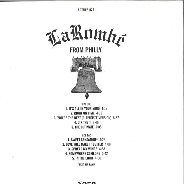LaRombé - From Philly (LP Reissue) (Back)