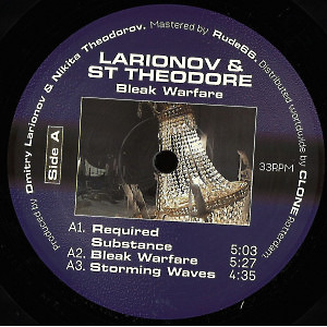 Larionov & St Theodore - Bleak Warfare