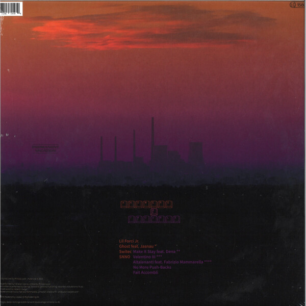 Lauer - Answers to Trouble (LP) (Back)