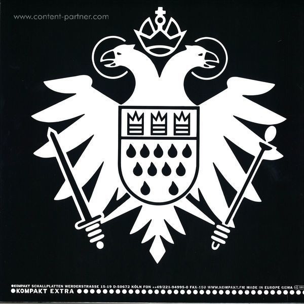 Laurent Garnier - Speicher 95 (Repress) (Back)