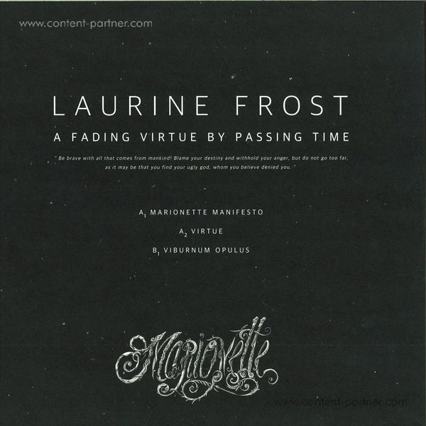 Laurine Frost - A Fading Virtue By Passing Time EP (Back)