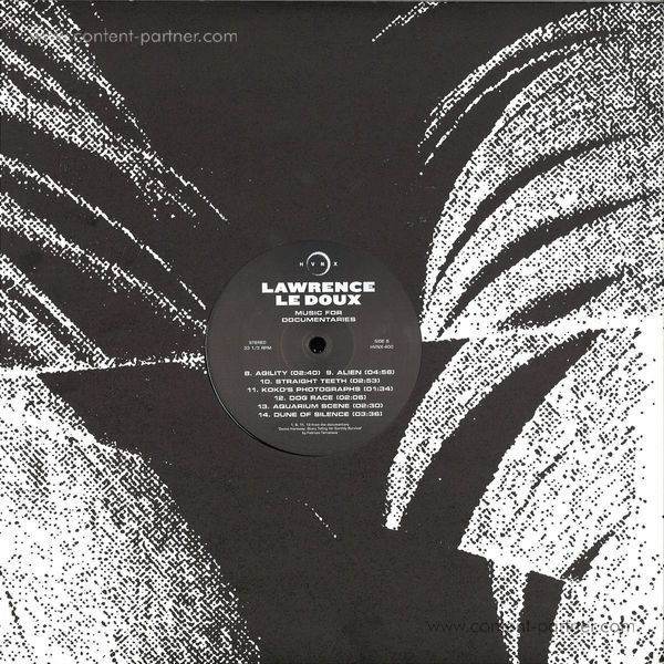 Lawrence Le Doux - Music For Documentaries (Back)