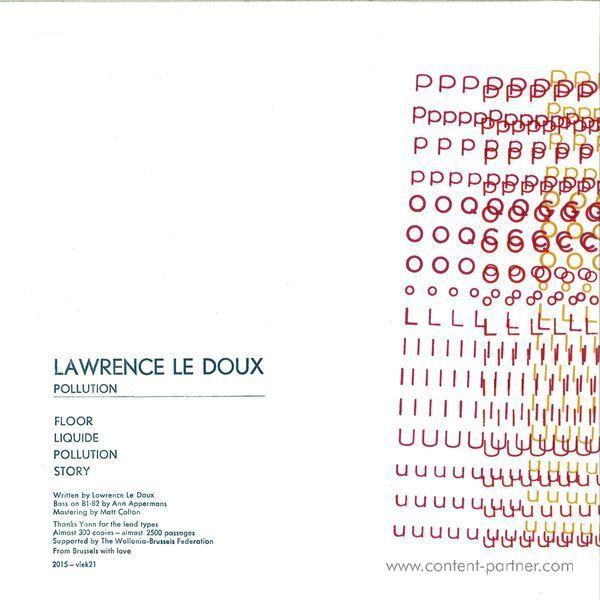 Lawrence Le Doux - Pollution (Back)