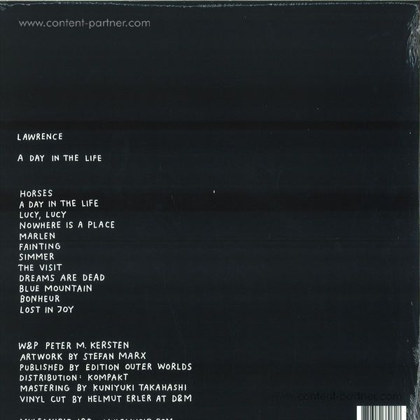 Lawrence - A Day In The Life (Back)