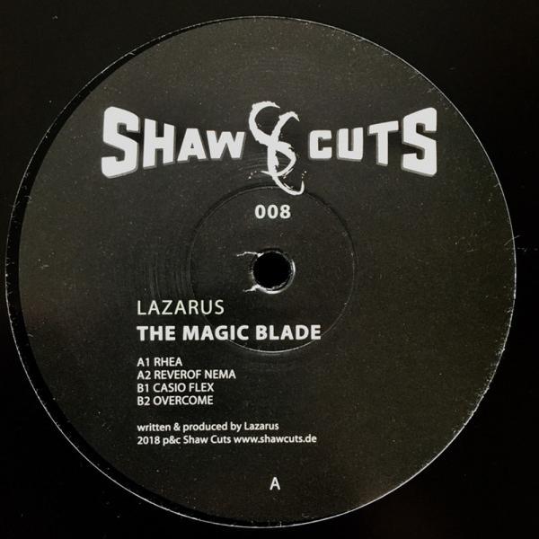 Lazarus - The Magic Blade (Back)
