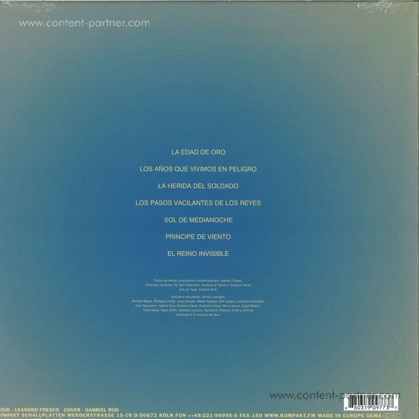 Leandro Fresco - El Reino Invisible (LP + Cd) (Back)