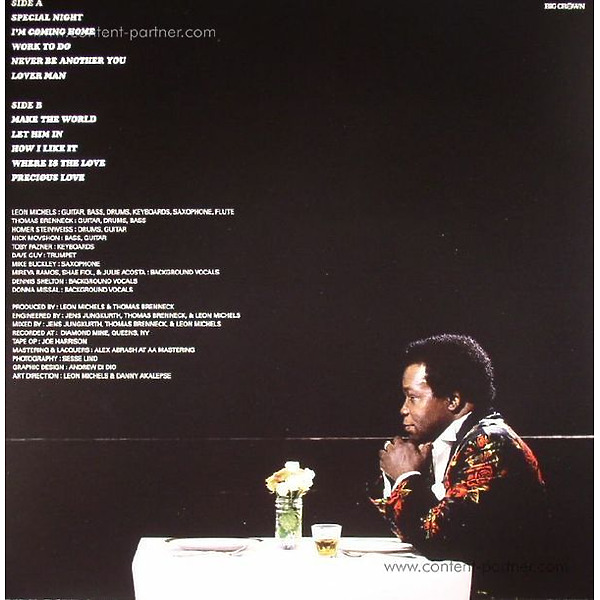 Lee Fields & The Expressions - Special Night (LP) (Back)