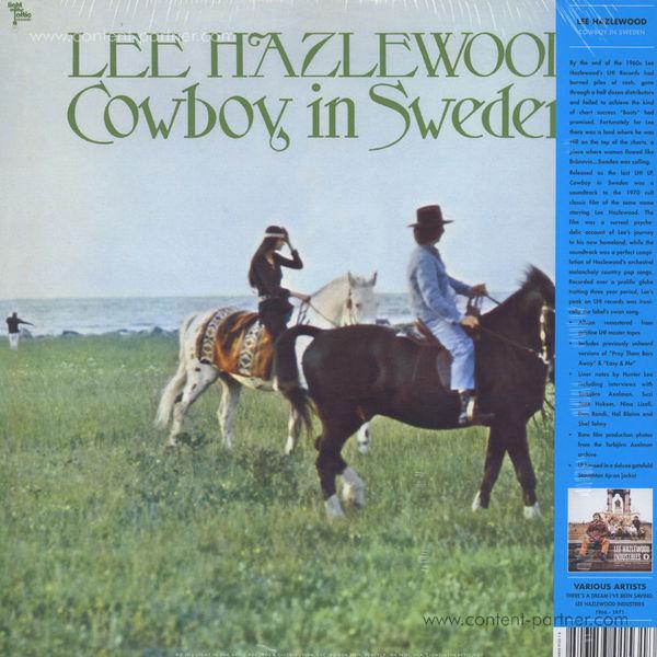 Lee Hazlewood - Cowboy In Sweden (Back)