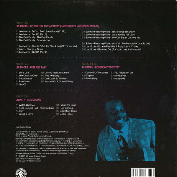 Lee More - A Gram Of Boogie (the Story Of Lee Moore / Score R (Back)